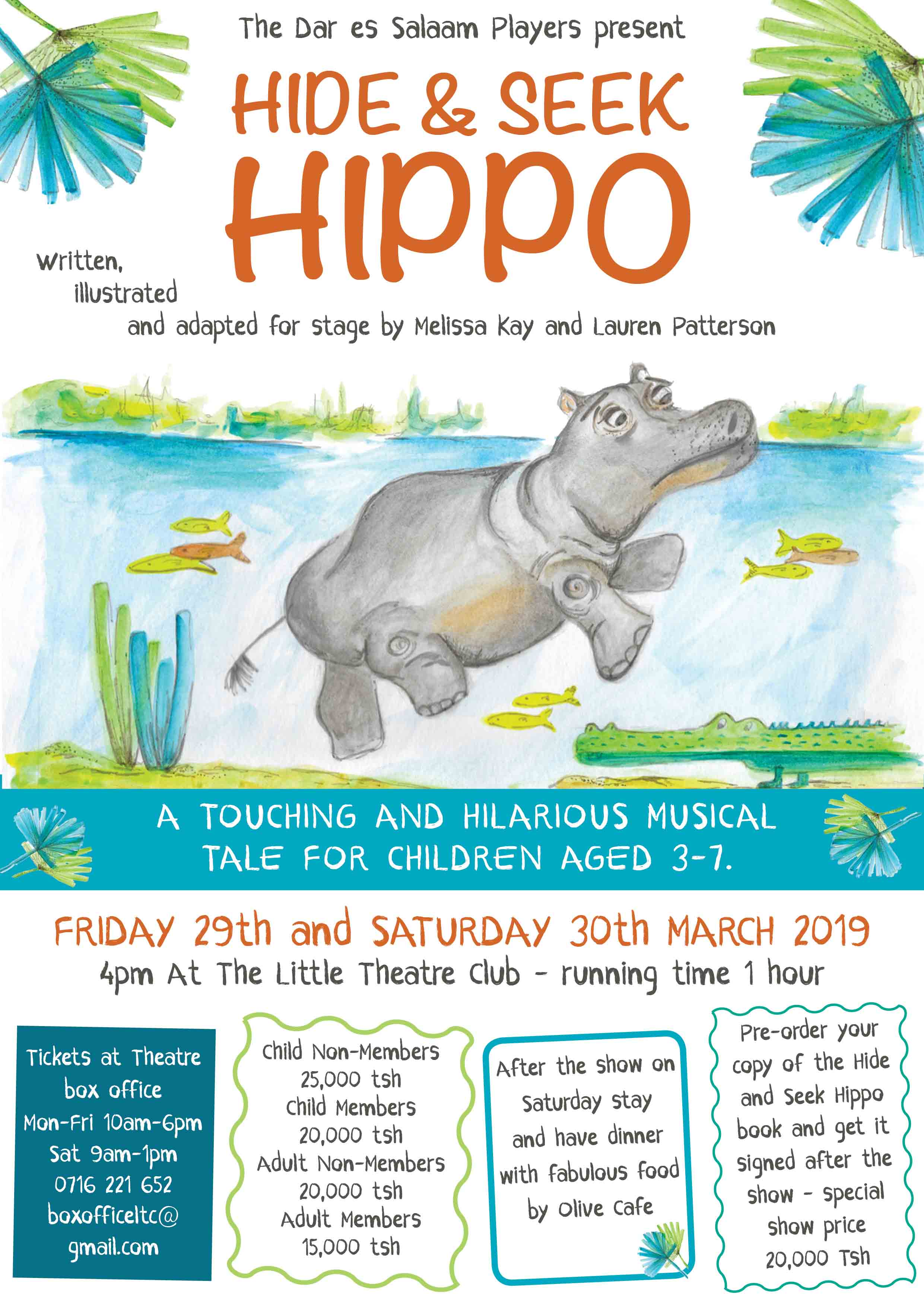Hippo on stage!